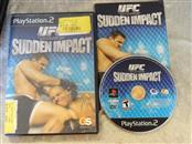 SONY PS2 GAME - UFC SUDDEN IMPACT